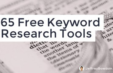 65 Free Keyword Research Tools 1