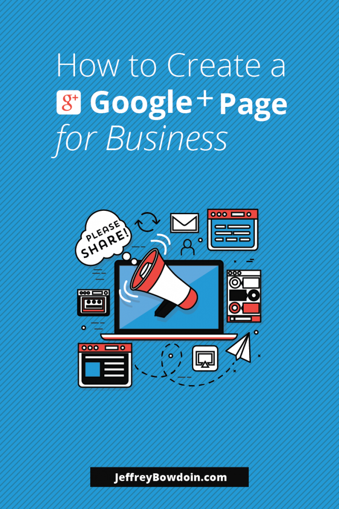Create a Google Plus Page for your Blog