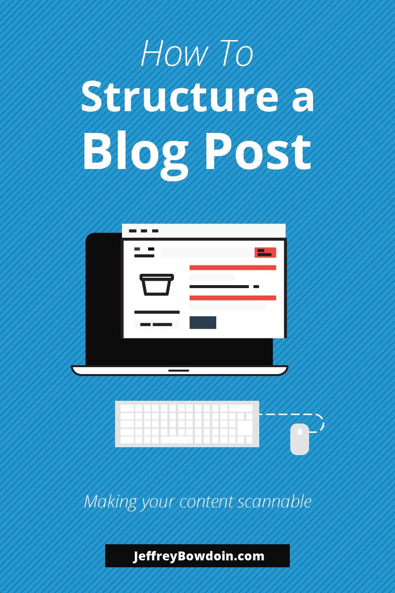 Make Blog Post Scannable Im